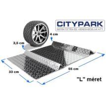 Parkolást segítő ütköző (acél)