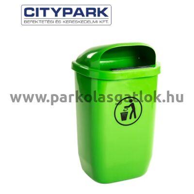 50 literes köztéri hulladéktároló