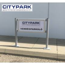 Parkolótábla (515x220 mm)