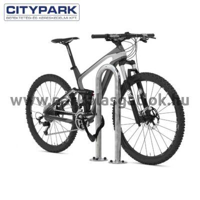 Kerékpártámasz kapu (talplemezes)