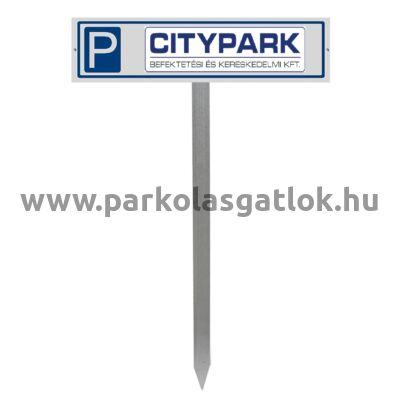 Parkolótábla (530x130 mm)